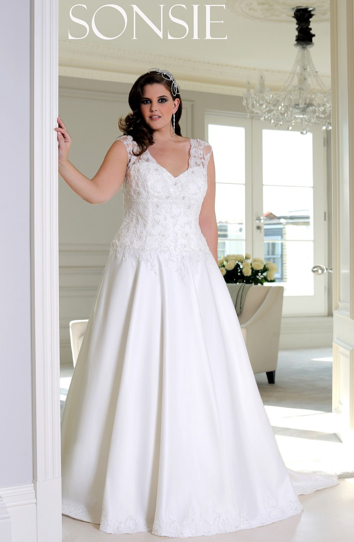7ecdf47d764b SON91460 : Sonsie Collection | Veromia | plus size saty | Wedding ...