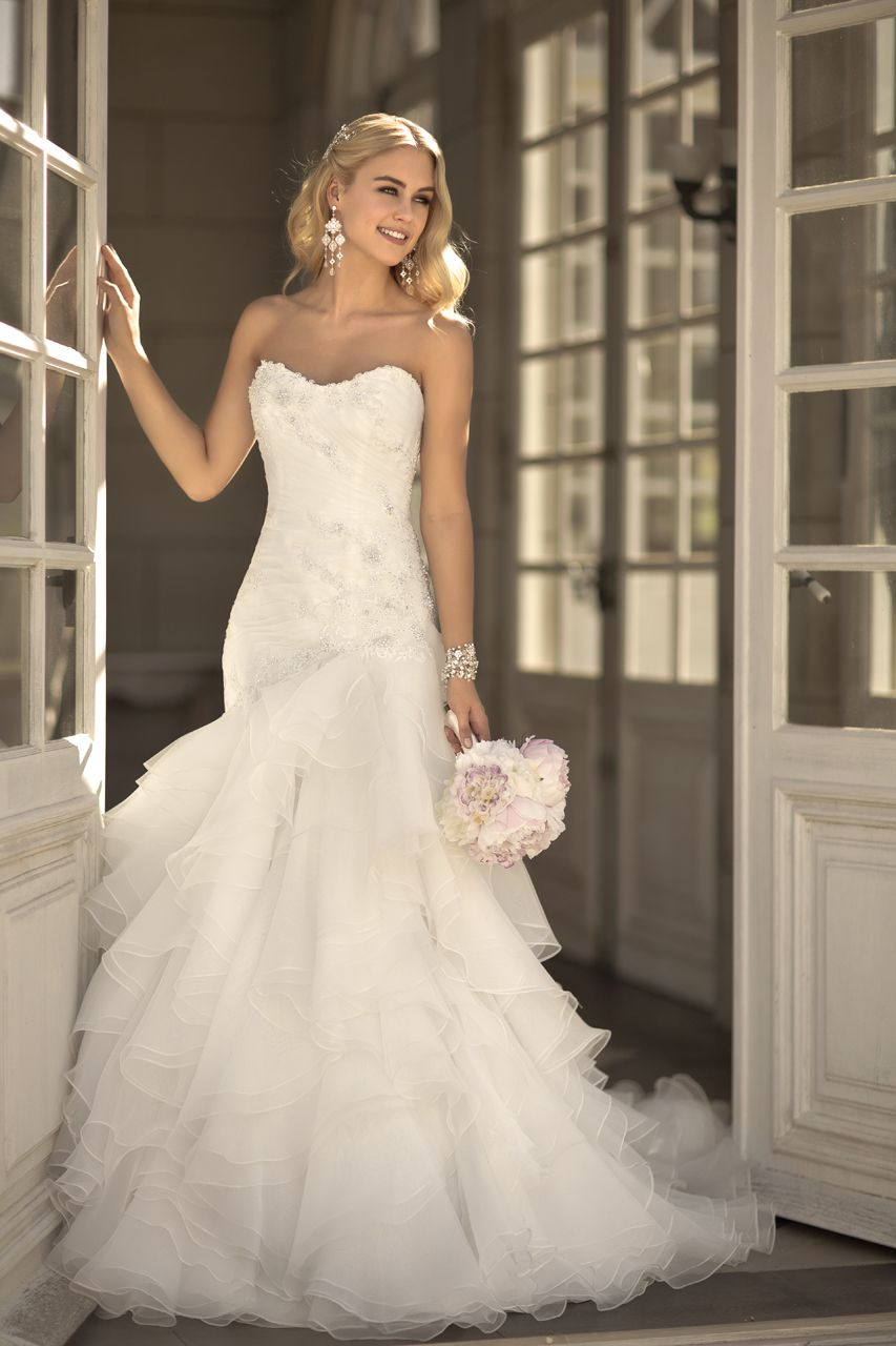 Elegant fitted wedding dresses  Style   really like this one  Ally  Pinterest  Stella york