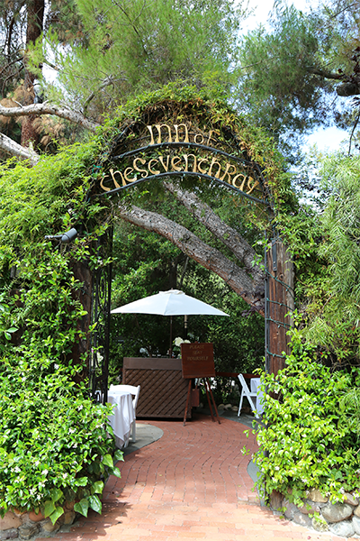 The Inn Of Seventh Ray In Los Angeles California Wedding Venue Losangeles