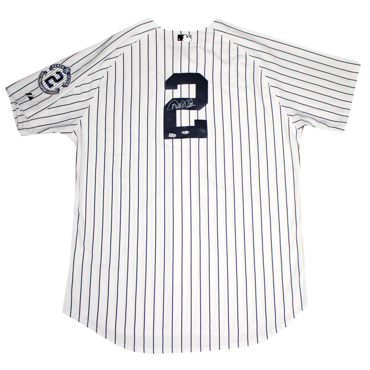 new styles 7f1dd 7acf4 Derek jeter signed authentic pinstripe jersey with ...