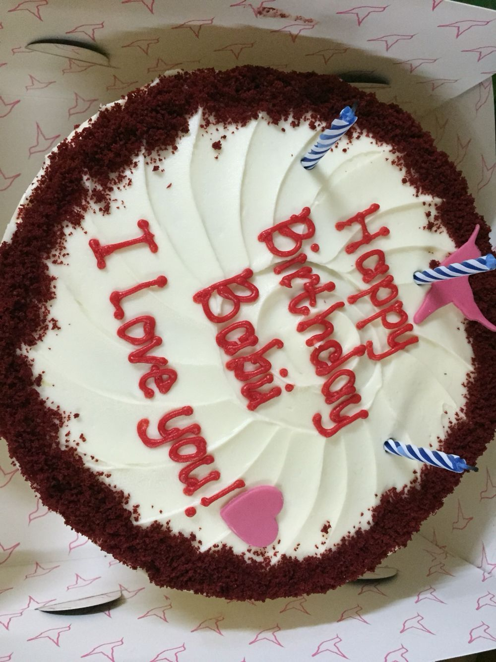 Happy Birthday Cake From Babu Looks In 2019 Happy Birthday Cakes