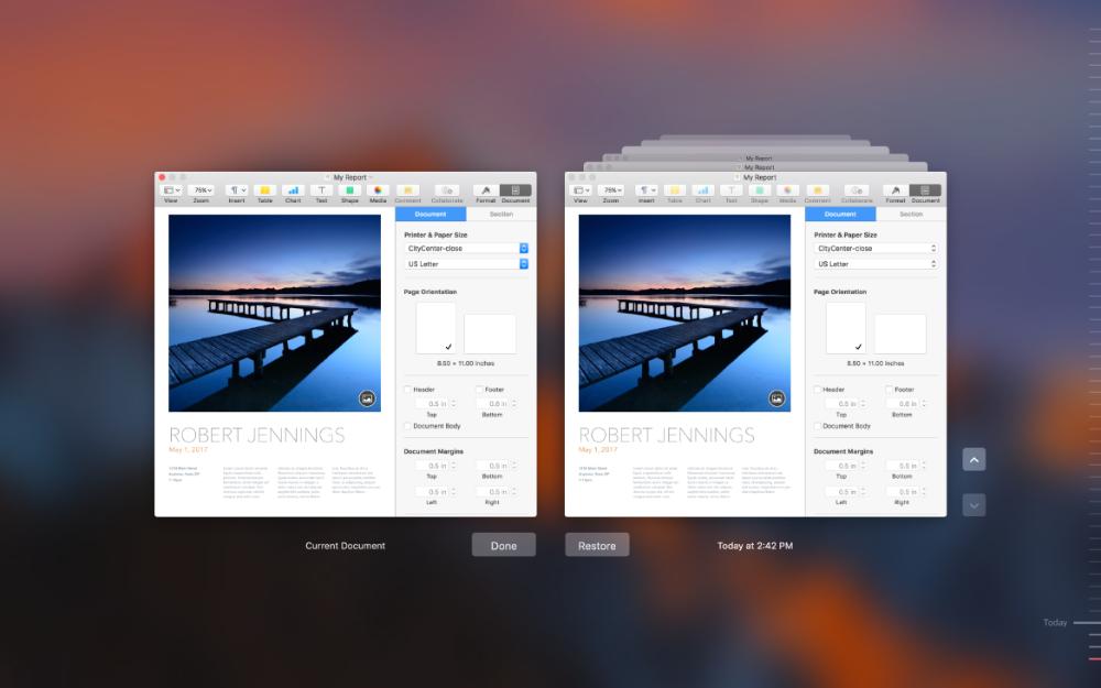 自动保存系统功能macOS人机界面指南Apple Developer Human interface