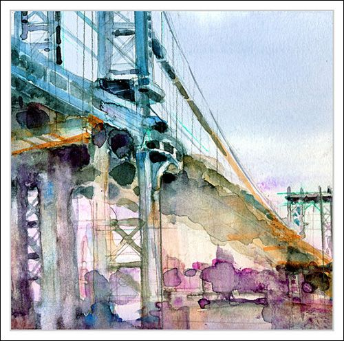 Dorrie Rifkin Passionate Cityscapes In Watercolor Watercolor