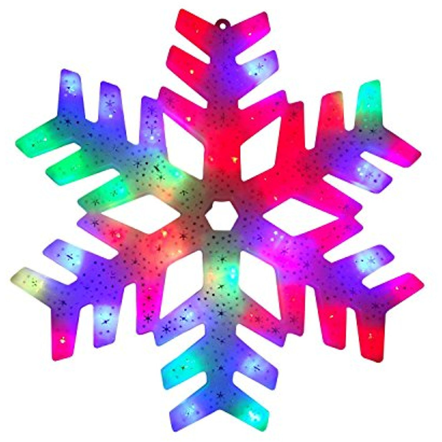 15 Led Color Changing Christmas Snowflake Window Silhouette Visit The Image Link More Details This Is An Affiliate Seasonaldcor