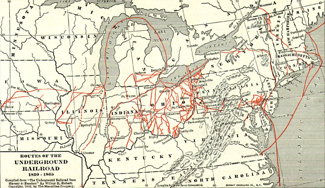 This Map Illustrates The Crucial Role Michigan Played In Helping