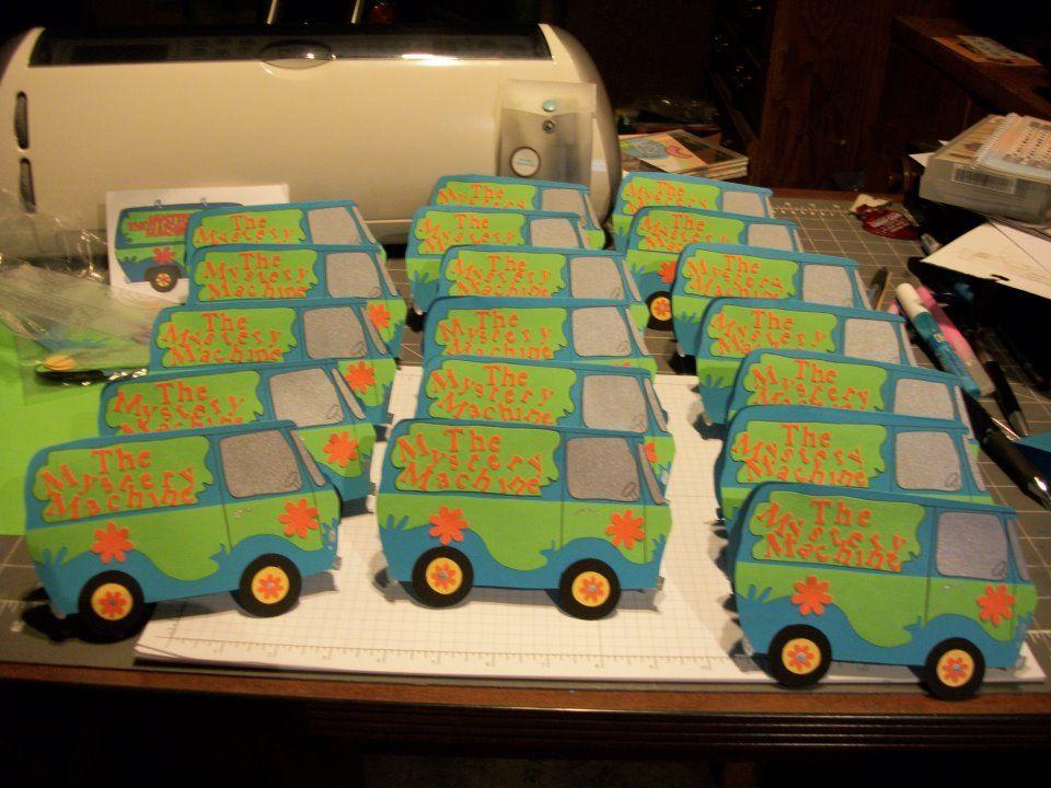 Scooby Doo Van Birthday invitations | Trish\'s Custom Creations ...