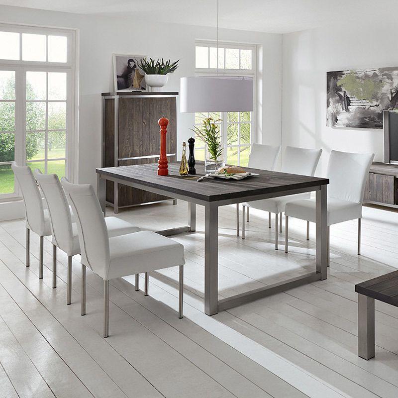 Esstisch 200cm »TRENTO« Eiche dunkel - massiv Jetzt bestellen - küchentisch mit stühlen