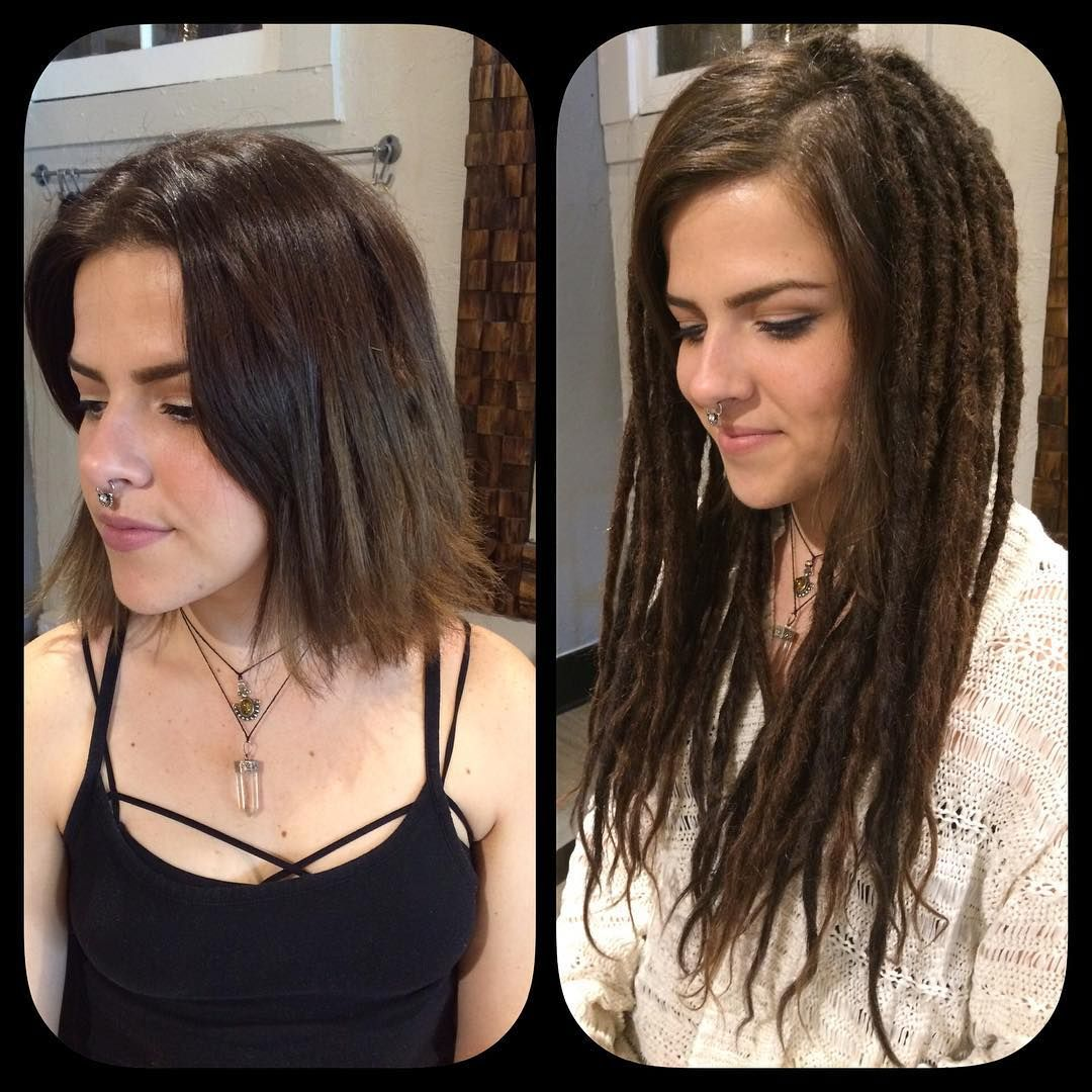 before and after dreadlock extensions Google Search