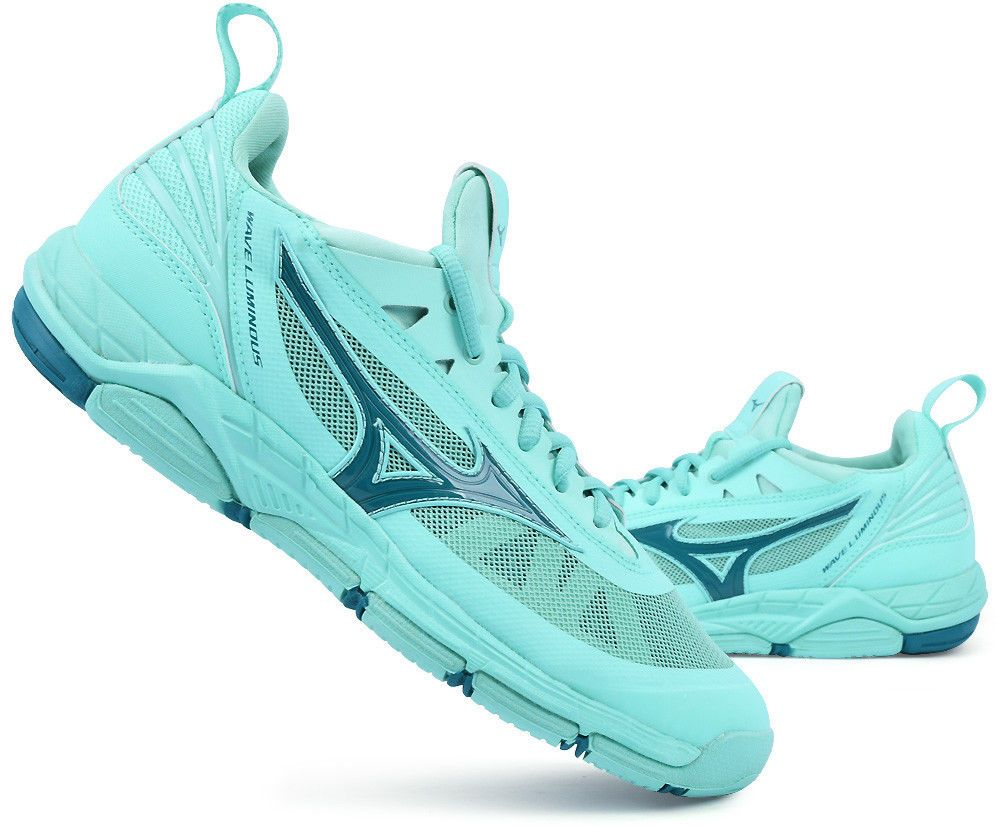 96d4fb372bc Mizuno LUMINOUS Volleyball Badminton Shoes Indoor Sport Shoes Mint  V1GC1820936 #Mizuno