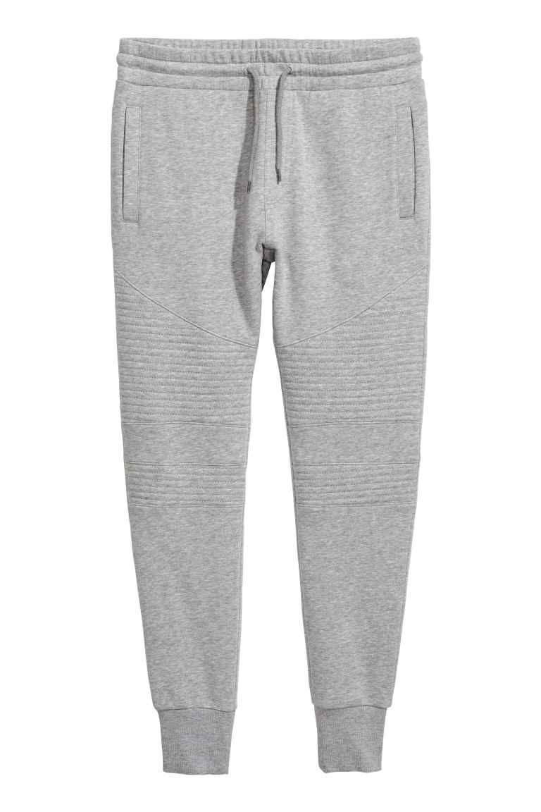 pantalon jogger pantalons de joggeur gris chin et. Black Bedroom Furniture Sets. Home Design Ideas