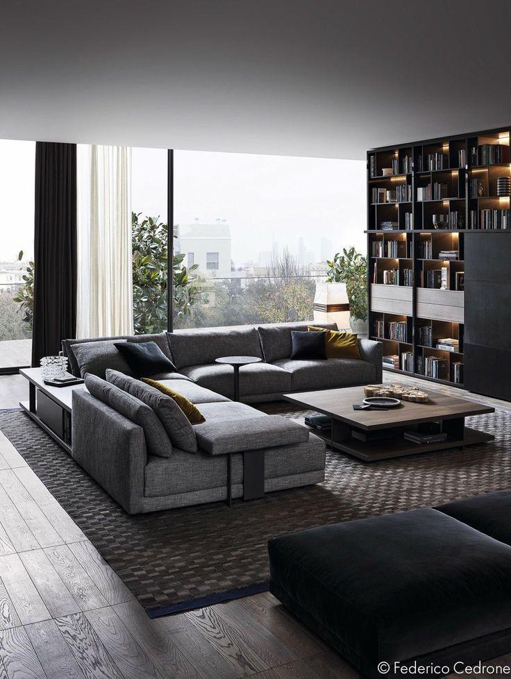 3 Unique Living Room Interior Design, Theme and Color | Idée ...
