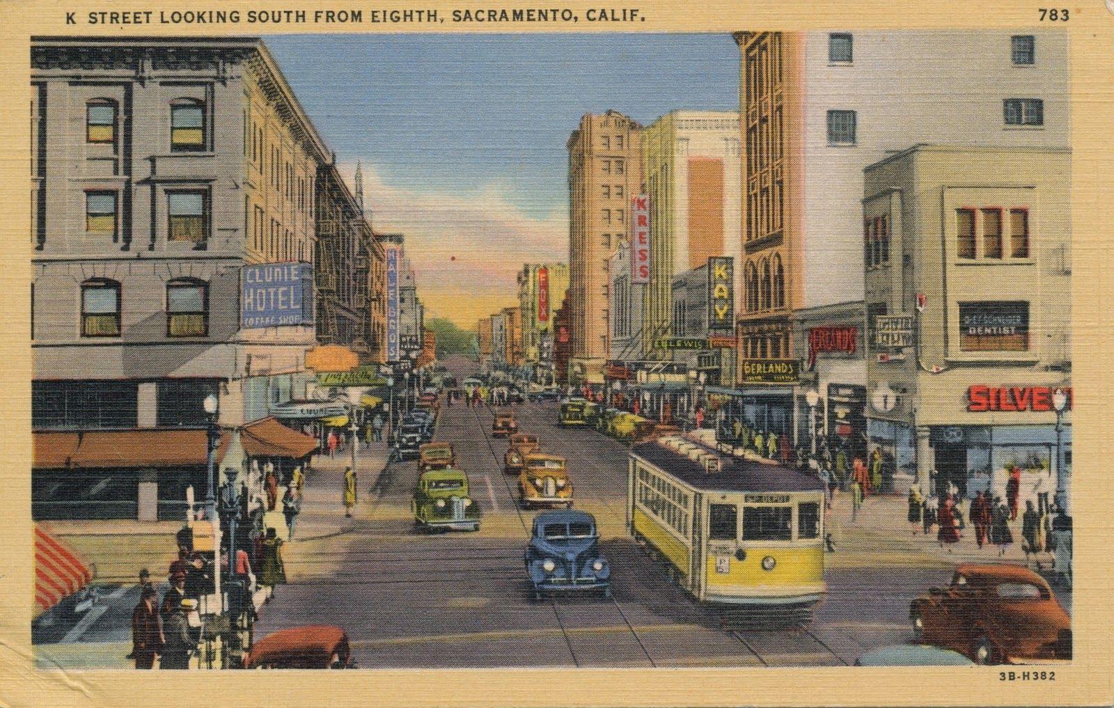 The Daily Postcard: Streetcar Sunday - Sacramento,