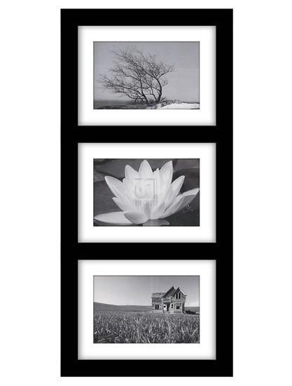 3 OPENING 4 X 6 BLACK COLLAGE FRAME | WALL FRAME COLLAGE | Pinterest ...