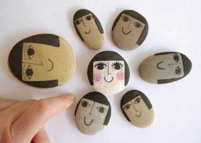 Jane Foster Blog: Illustrated Pebbles - Jane Foster