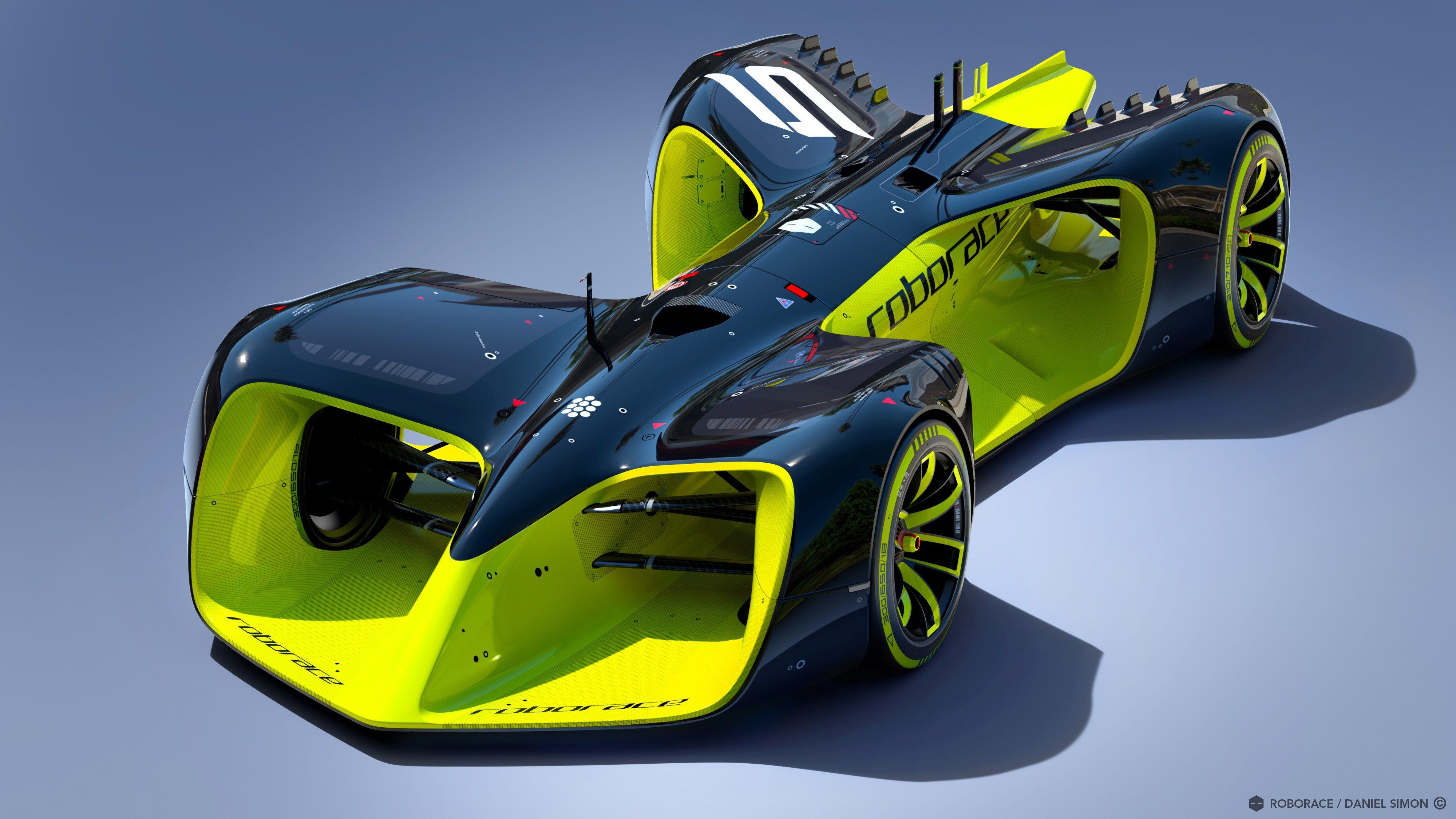TRON: Legacy Designer Unveils New Autonomous Formula E Race Car | Architectural Digest