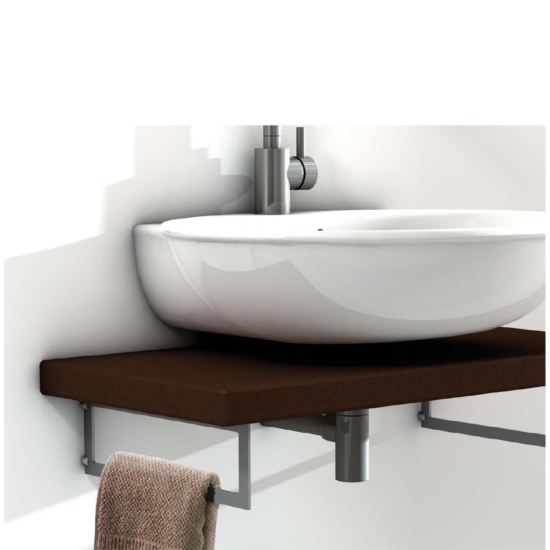 Wonderful Floating Sink   Shelf Brackets Useful For Hand Towel Hanging.