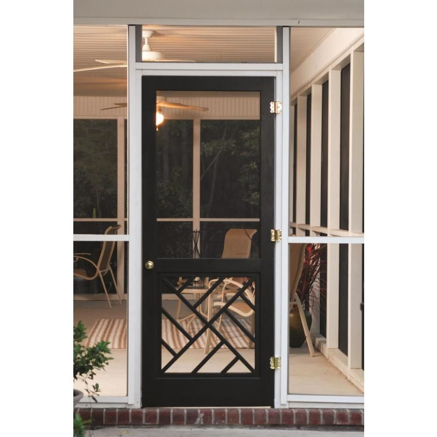 Screen Tight Chippendale 32 In X 80 In Finger Joint Wood Frame Hinged Decorative Screen Door Lowes Com Decorative Screen Doors Wood Screen Door Screen Tight Wondering if it is possible to get sliding glass doors except with screens to mount on the outside of the french doors. decorative screen doors wood screen