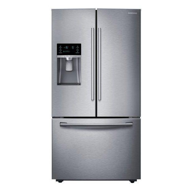 Samsung 28 07 Cu Ft 3 Door French Door Refrigerators Single Ice