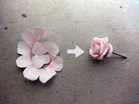 How to make rose paper flower easy origami flowers for beginners how to make rose paper flower easy origami flowers for beginners making diy paper crafts youtube mightylinksfo