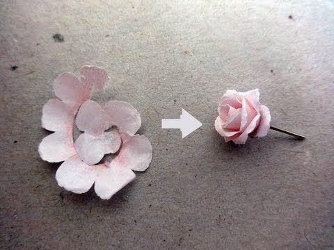 Origami for Kids - Easy Paper Flower - YouTube (com imagens ... | 360x480