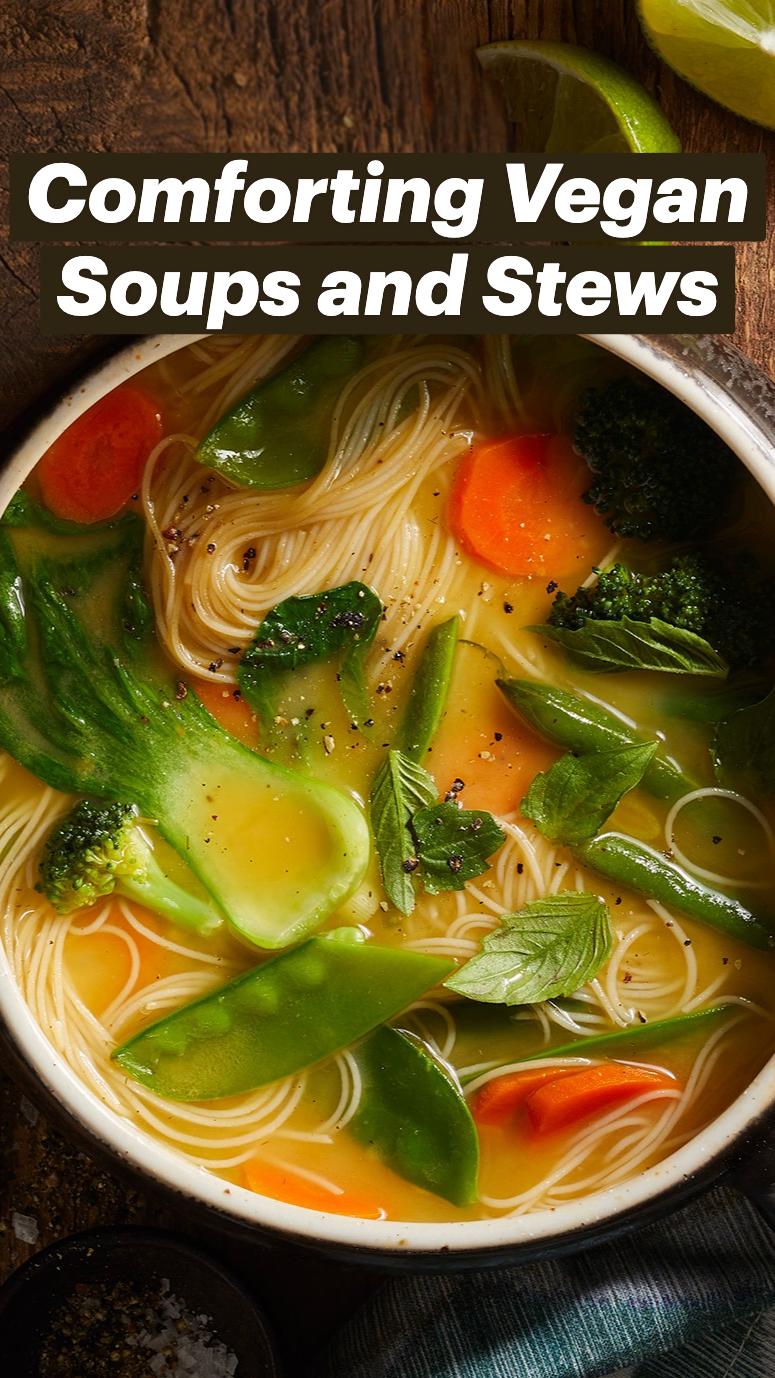 Comforting Vegan Soups and Stews