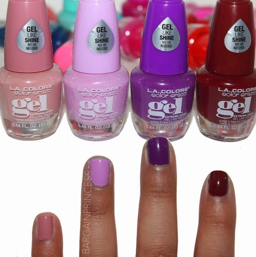 La Colors Color Craze Gel Polish Nail Polish La Colors Nail Polish Nail Colors