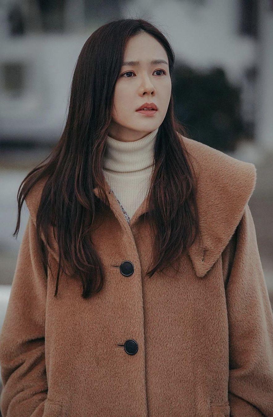 Son Ye Jin in trench coat | Korean actresses, Korean