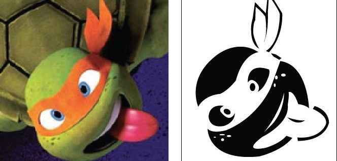 ninja turtle pumpkin carving templates - Google Search   Hunter\'s ...