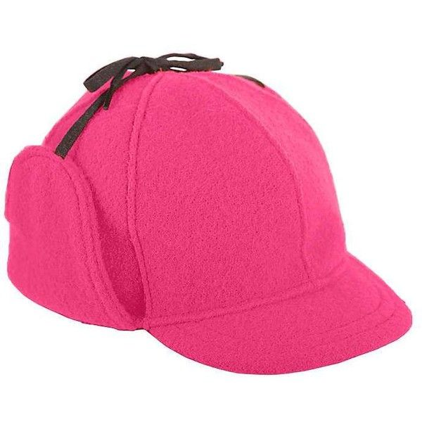 51ccf475b6bb6 Stormy Kromer Women's Snowdrift Cap ($50) ❤ liked on Polyvore featuring  accessories, hats, blaze pink, stormy kromer, crown hat, pink cap, stormy  kromer ...