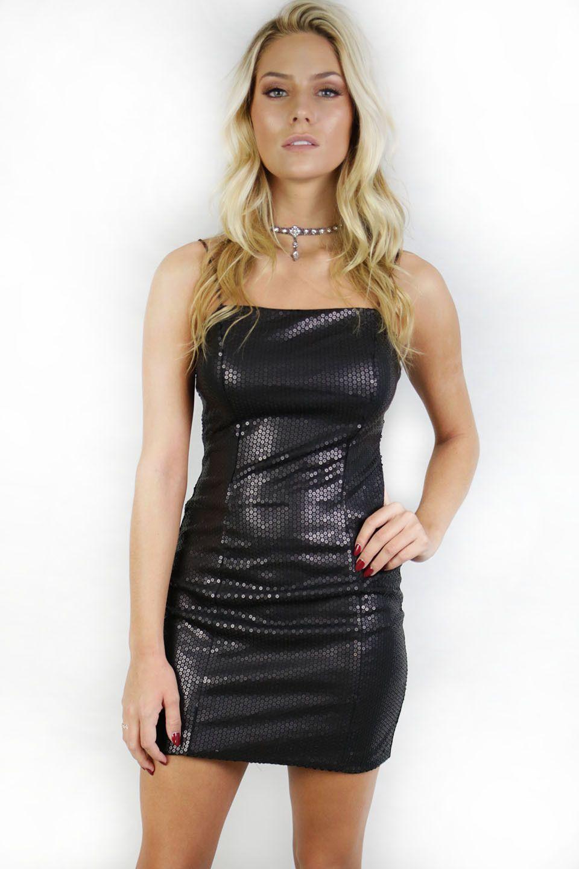 Hollywood boulevard black sequin dress hollywood boulevard and