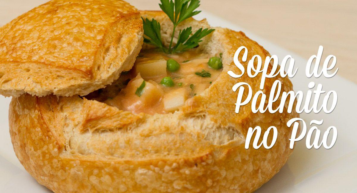 Aprenda a fazer uma sopa deliciosa e levinha, que pode ser servida de uma maneira diferente e gostosa!