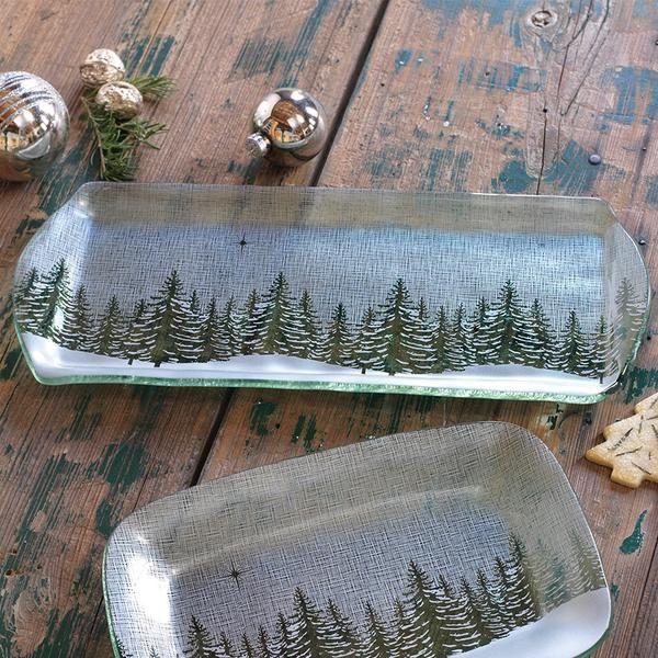 Winter Evergreen Party Tray