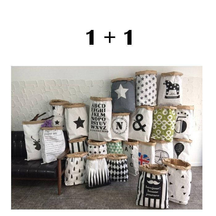 Kraft Paper Bags 1 Bag Storage