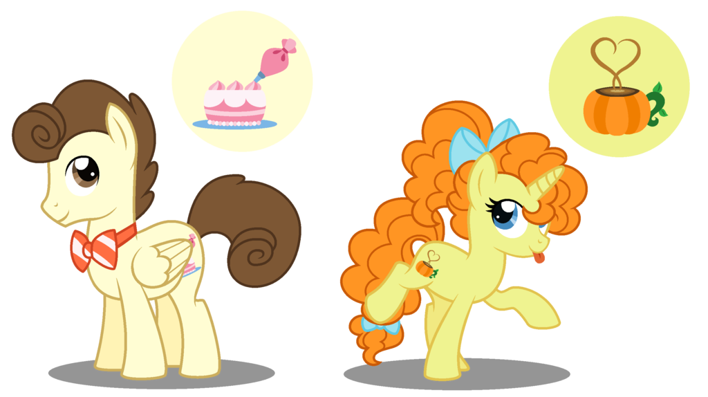 Pound Cake And Pumpkin Cake Ponies Mlp Pony Mlp Base