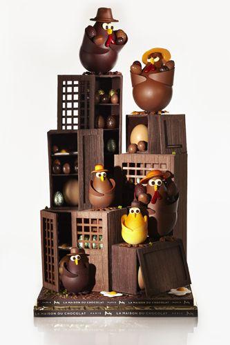 chocorico @ la maison du chocolat