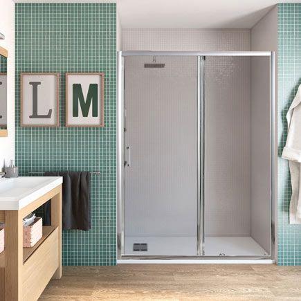 Mampara frontal de ducha para baño secundario. | proyecto A303 ...