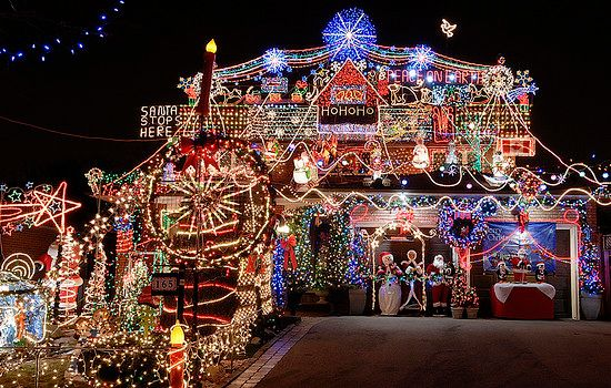 House With Christmas Lights.House With Lights Lightingdesignmrburns Decorating With