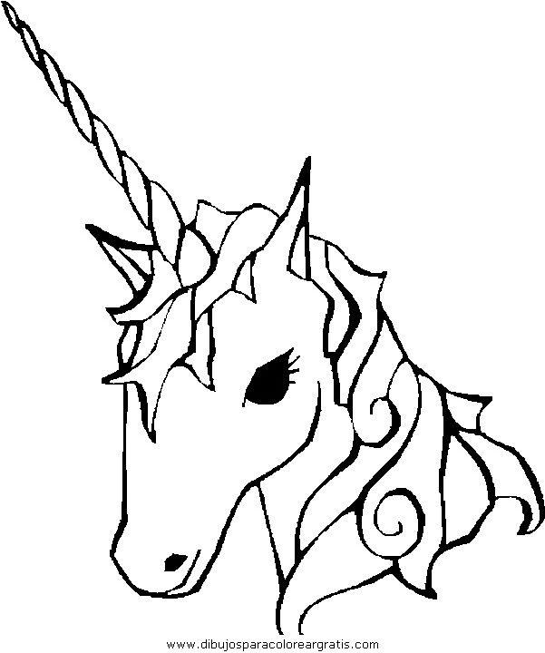 Unicornio Dibujo Buscar Con Google Unicorn Pictures To Color Unicorn Coloring Pages Unicorn Pictures