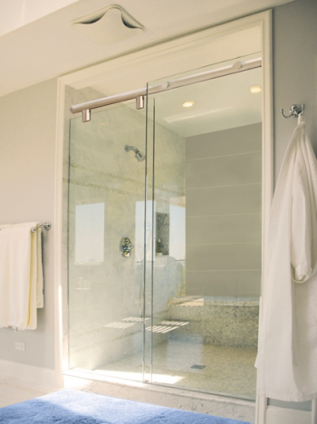 Hydroslide Glass Shower Sliding Door Kits | baños | Pinterest ...
