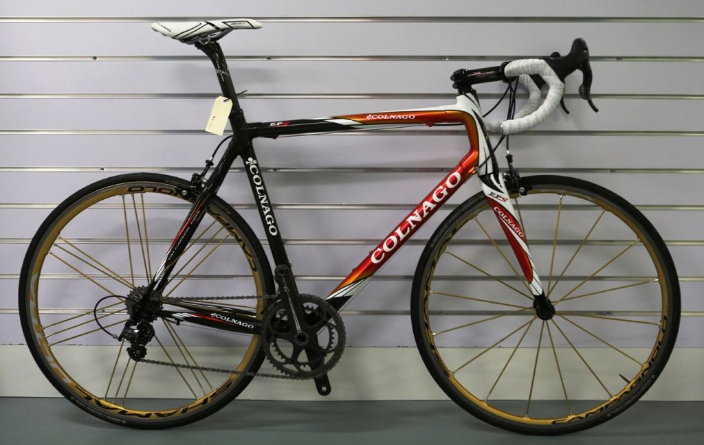 If You Are A Taller Guy Who Rides A 58cm Bike And Are Looking To Upgrade Your Present Machine Then This Colnago Eps Is Worth A Look Equipped With A Campagnolo