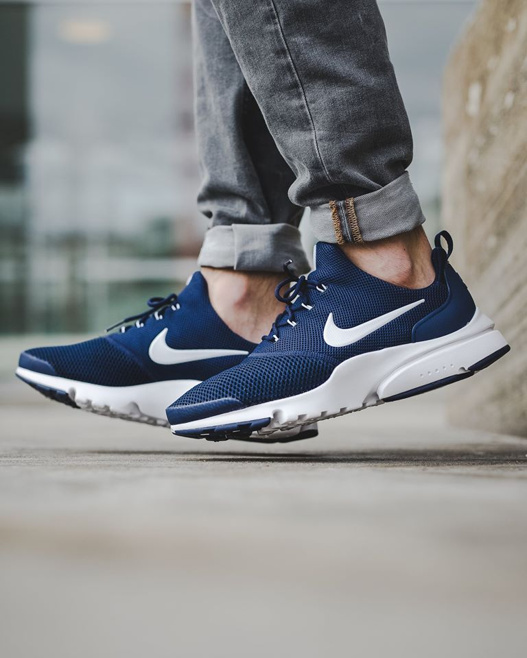 timeless design d7c3b 8b274 Bottes Pour Hommes · Nike Air Presto Fly Midnight Navy-1 Chaussure,  Chaussures Air Max, Baskets Nike