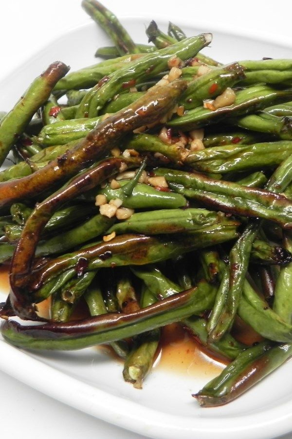 Air Fryer Spicy Green Beans Recipe In 2020 Green Bean