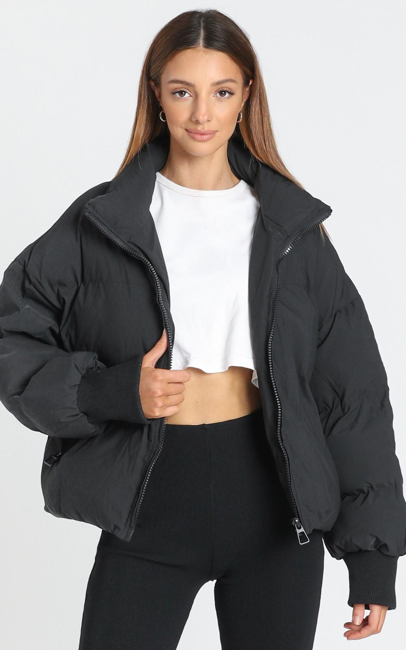 Windsor Puffer Jacket In Black Showpo In 2021 Jackets Fashion Puffer Jackets [ 2140 x 1338 Pixel ]