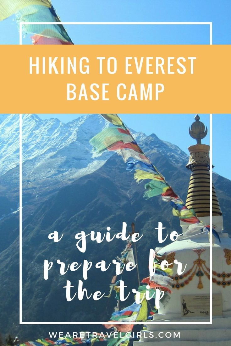 A guide to survive a trek to everest base camp so youve