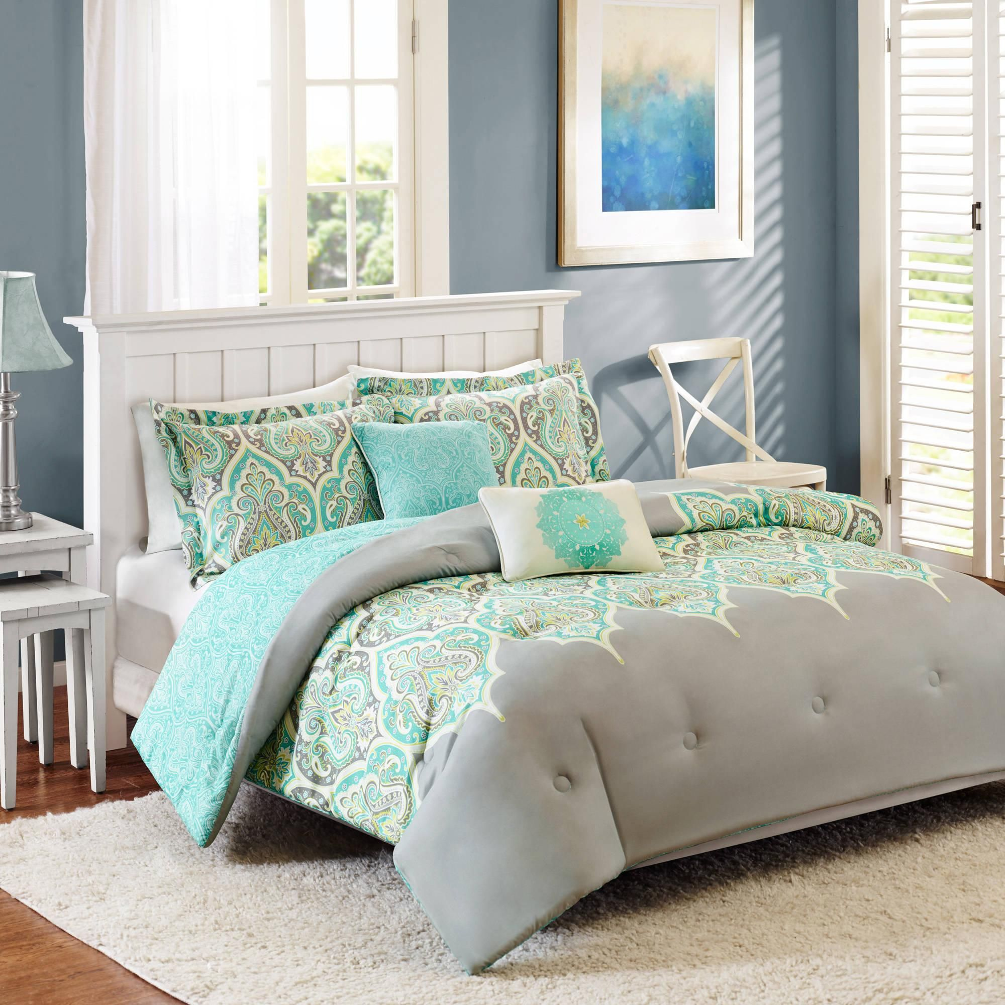 set quilt quiltsham wallpaper damask and beautiful blue better sets antique gardens homes furniture coastal bedroom suzani comforter new shells jeweled queen walmart collection