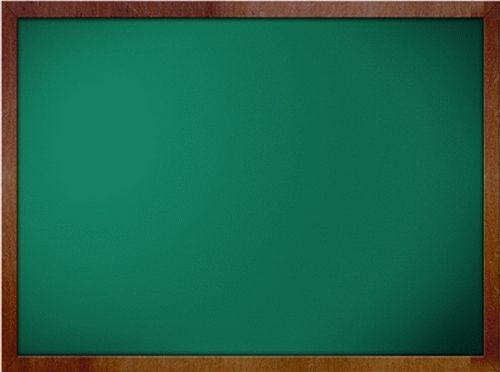 Green Chalkboard Education PowerPoint Templates Powerpoint