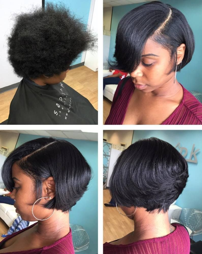 Silk press and cut hair pinterest afro hair cut and snapchat