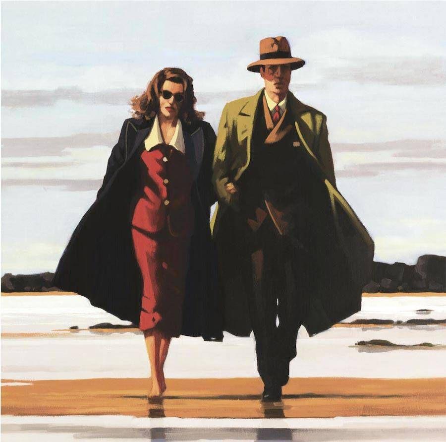 The Road to Nowhere 40x50 cm Art Print jack Vettriano