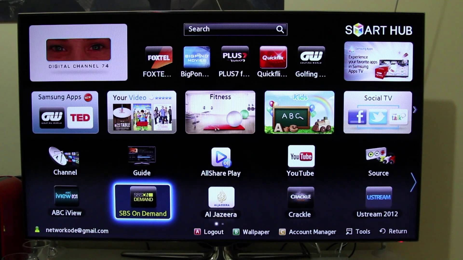 Samsung Smart TV Explained and Hands On Samsung smart tv