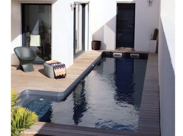 Petite piscine canal id es maison pinterest pi ces - Petite piscine jardin ...